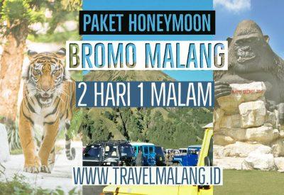 Paket Honeymoon Bromo Malang 2 Hari 1 Malam