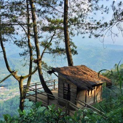 Tempat Wisata di Malang - Omah Kayu Paralayang