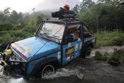 Off road yang menyenangkan di Gunung Semeru