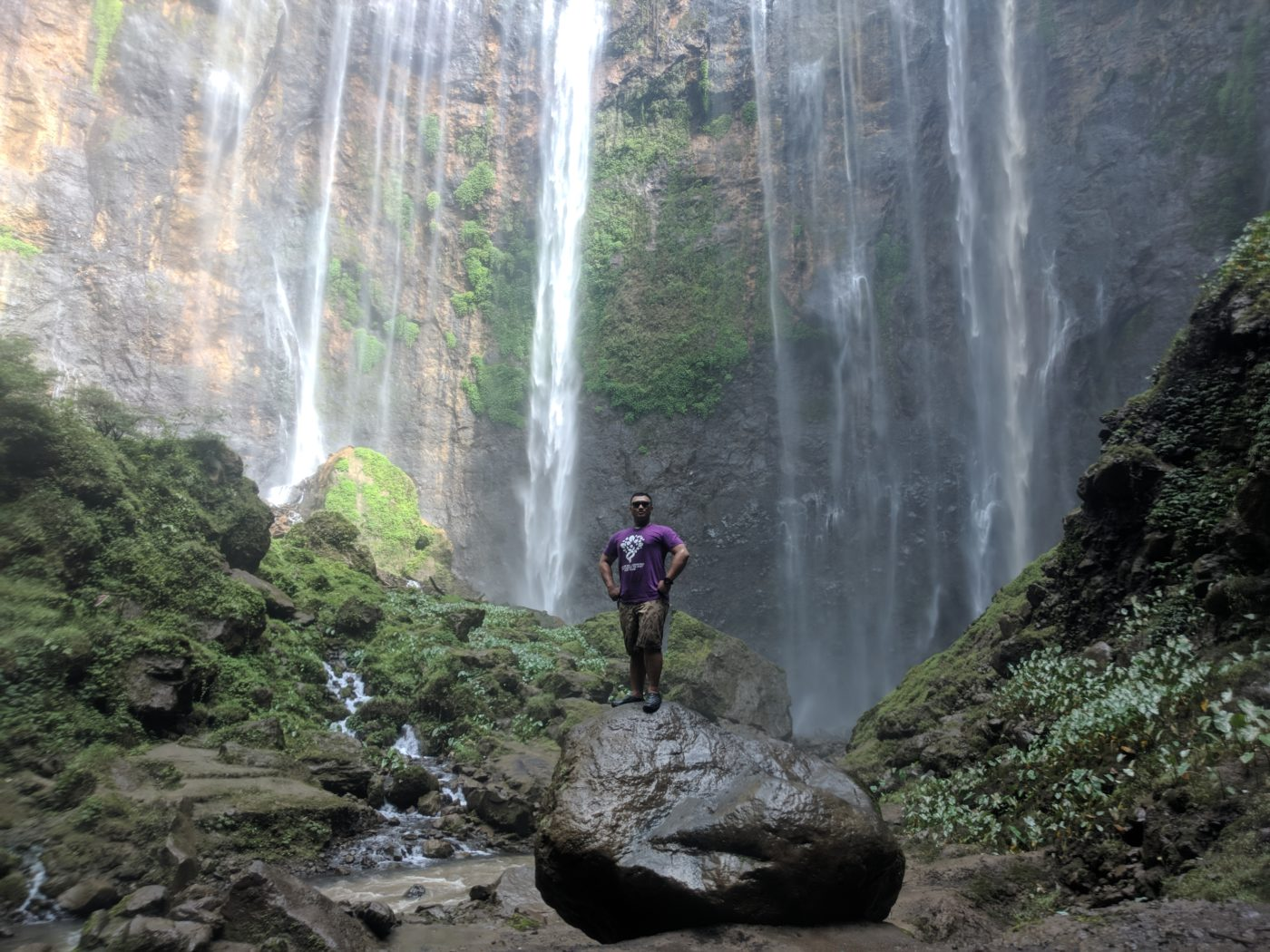 Bottom Waterfall Tumpak Sewu
