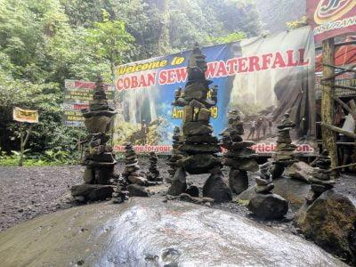 Spot wisata di Tumpak Sewu Malang - Lumajang