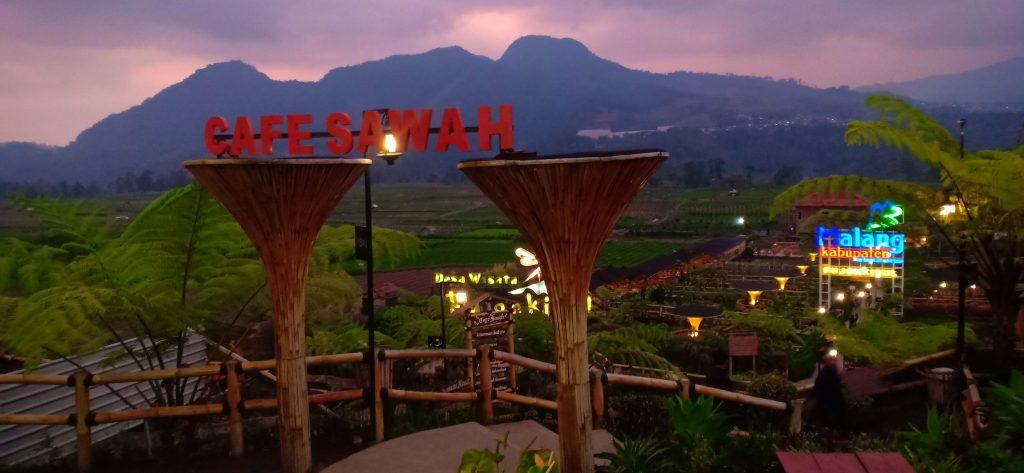 Cafe Sawah Desa Wisata Pujon Kidul