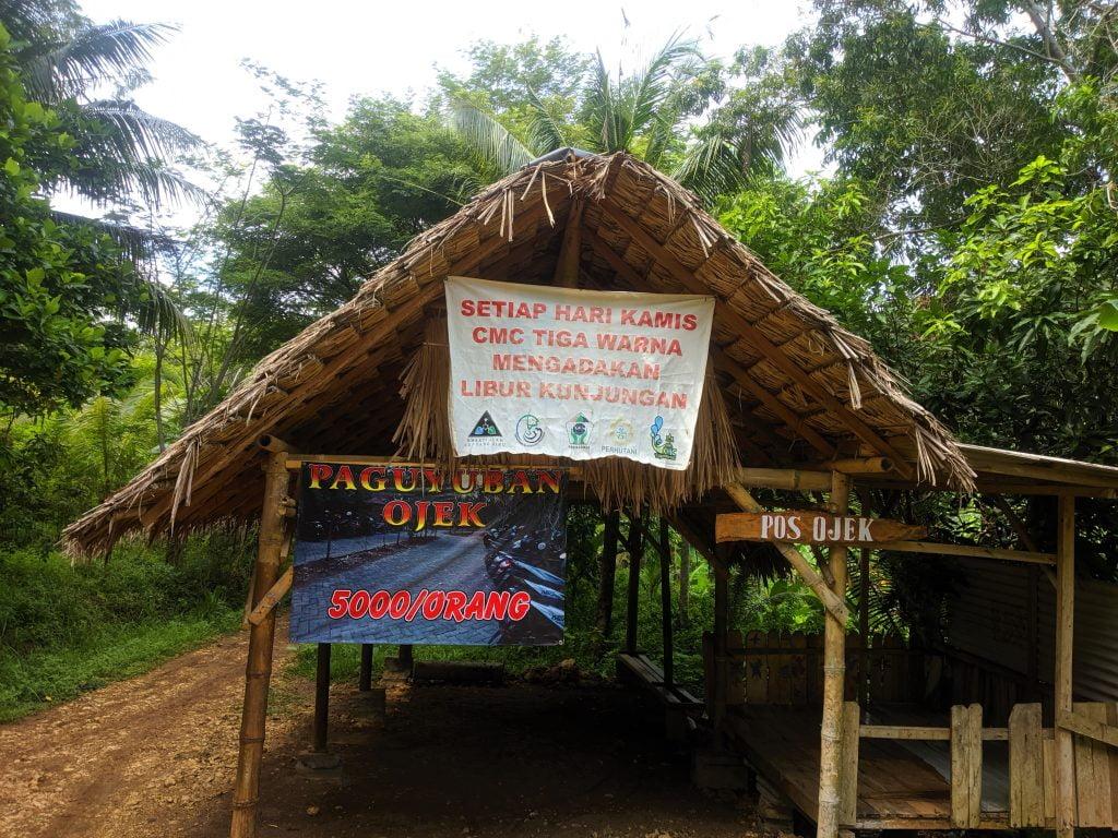 Kawasan Ojek Pantai Tiga Warna, Clungup, dan Gatra